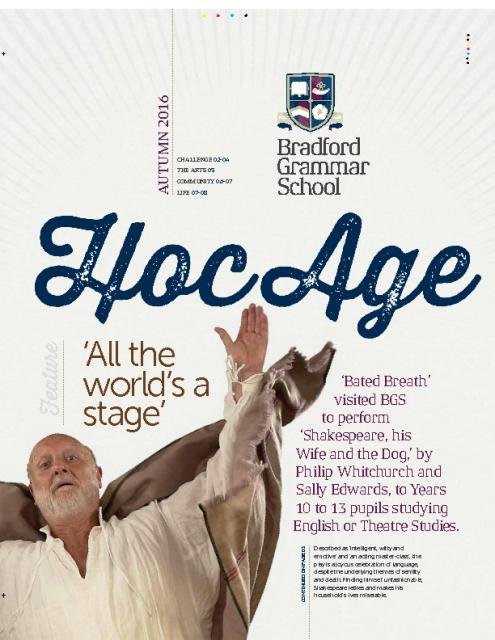 Hoc Age Senior and Sixth Form: Autumn 2016