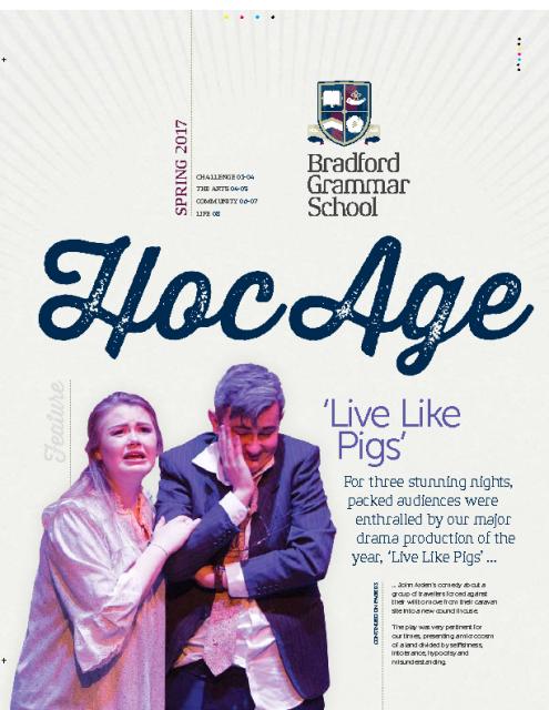 Hoc Age Senior and Sixth Form: Spring 2017