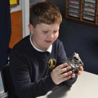 Moon rocks visit Baildon CofE Primary School